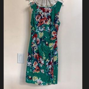 Bisou Bisou Michelle Bohbot flowery dress